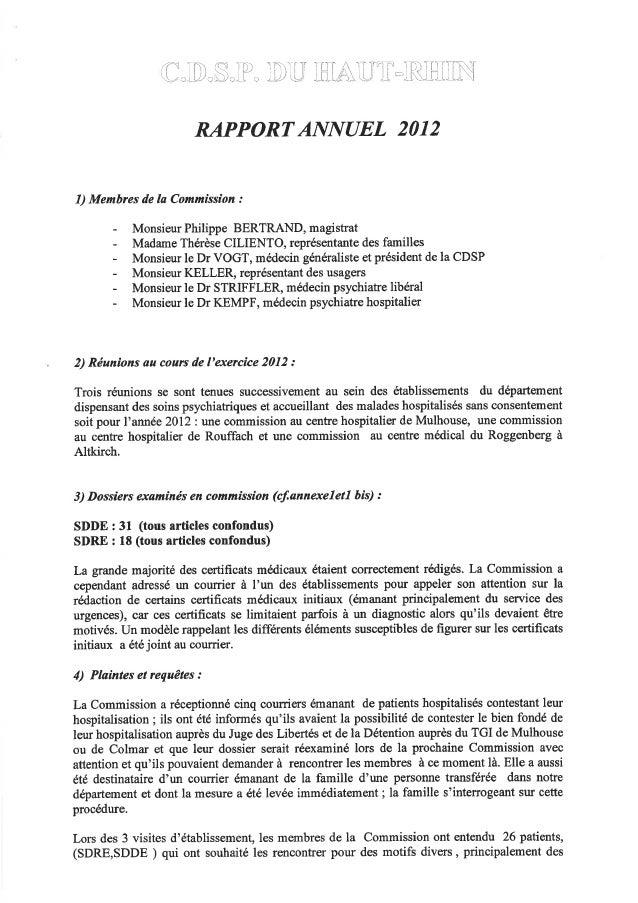 68 rapport activité cdsp 2012