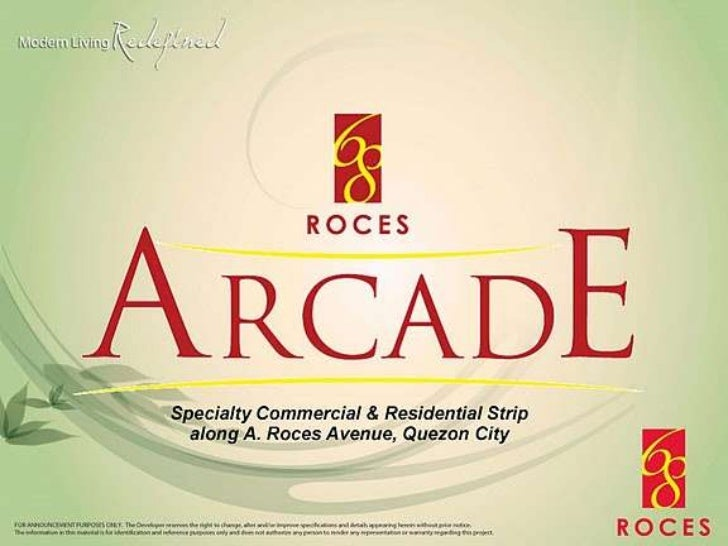 68  roces commercial and residential unit