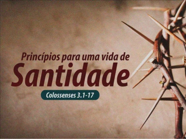 Para viver uma vida de  SANTIDADE...  1. JESUS precisa  ser o ALVO da  sua VIDA
