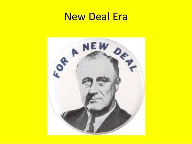 The New Deal - Black Quotas?