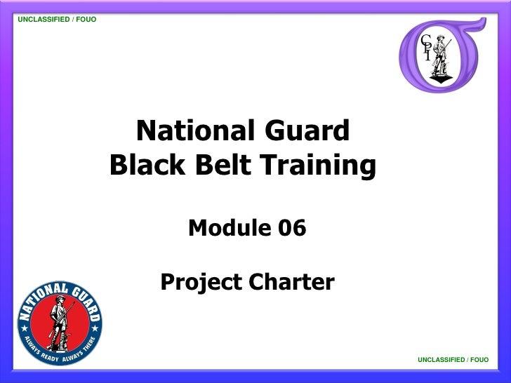NG BB 06 Project Charter