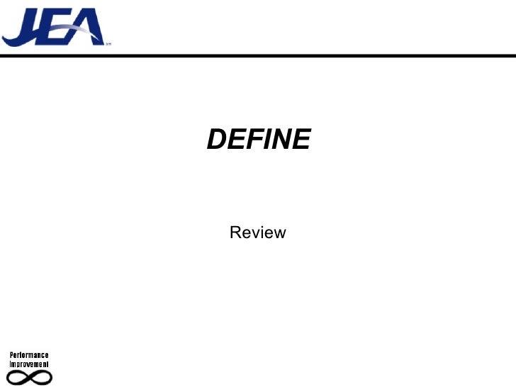 D11 Define Review