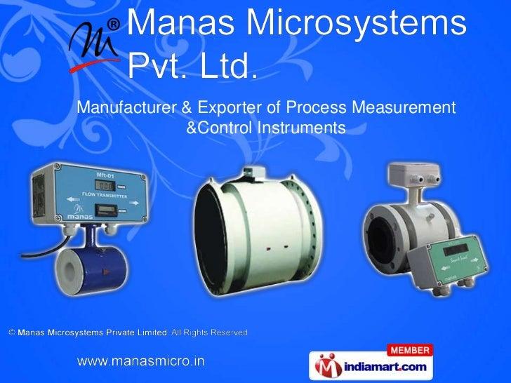 Manufacturer & Exporter of Process Measurement             &Control Instruments