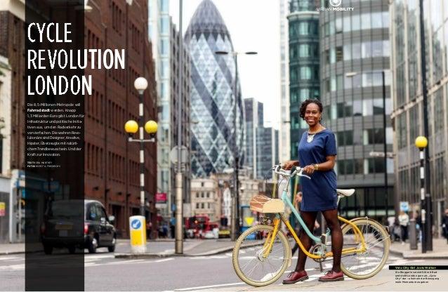 """86CENTRAL URBAN MOBILITY Velo City Girl Jools Walker Die Bloggerin vereint Stil mit Rad und stellt London gern als """"Cyc..."""