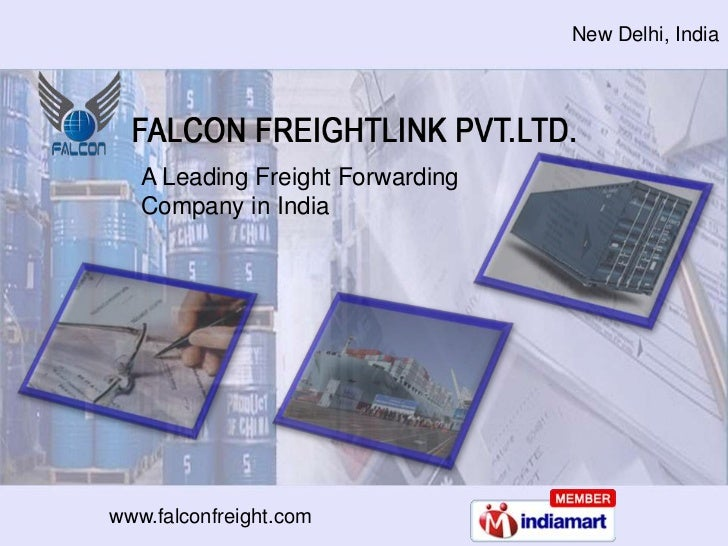 freight shipping company by falcon freightlink pvt ltd new delhi
