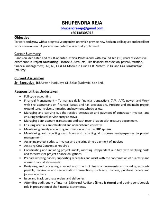 Warehouse auditor sample resume