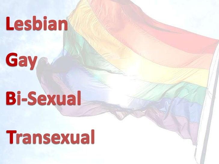 Lesbian<br />Gay<br />Bi-Sexual<br />Transexual<br />