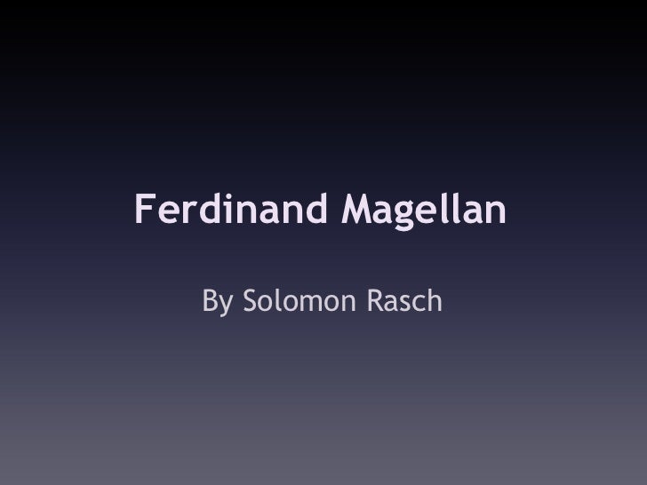 Solomon - Magellan