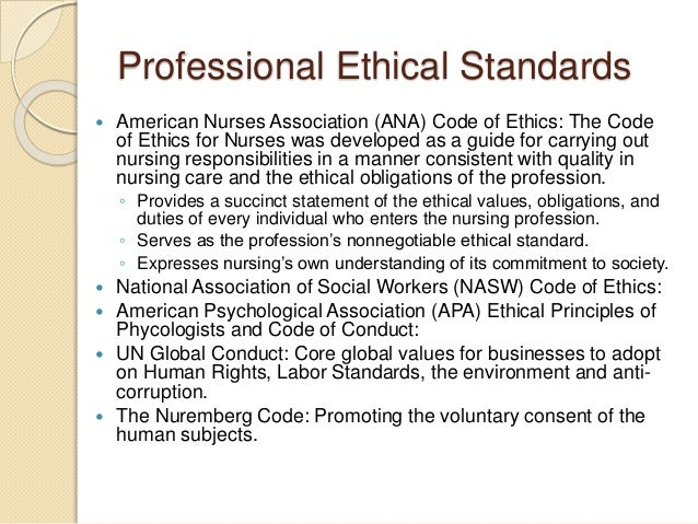 code of ethics for nursing essay Essay- from the understanding of nursing code of ethics, the term moral is set in as the key word that guides the profession of nursing.