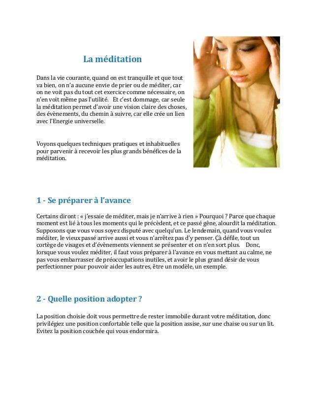 6 approches de meditation pour changer de vie