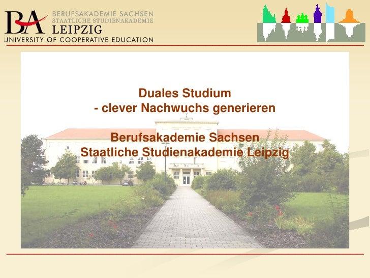 ____________________________________________________          Staatliche Studienakademie Leipzig               Berufsakade...