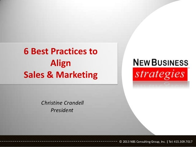 6 Best Practices to Align Sales and Marketing