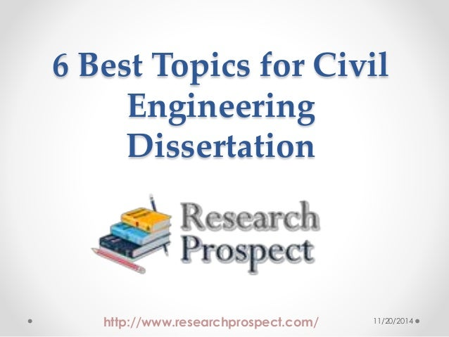 Research thesis for civil engineering