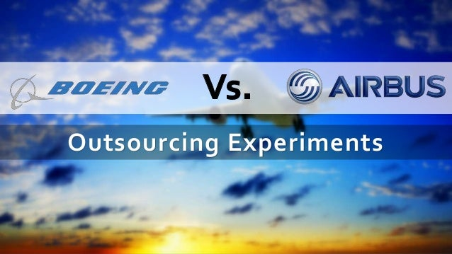 Airbus vs. Boeing (A) Case Solution and Analysis, HBS Case ...