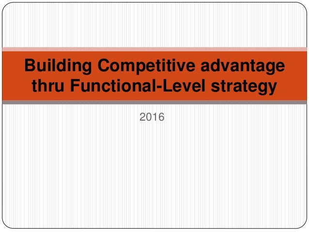 functional level strategy for mcdonalds Corporate level strategies of mc donalds 2 corporate level strategy is a strategy which is aimed at the long term position of a marketing strategies of mcdonalds.