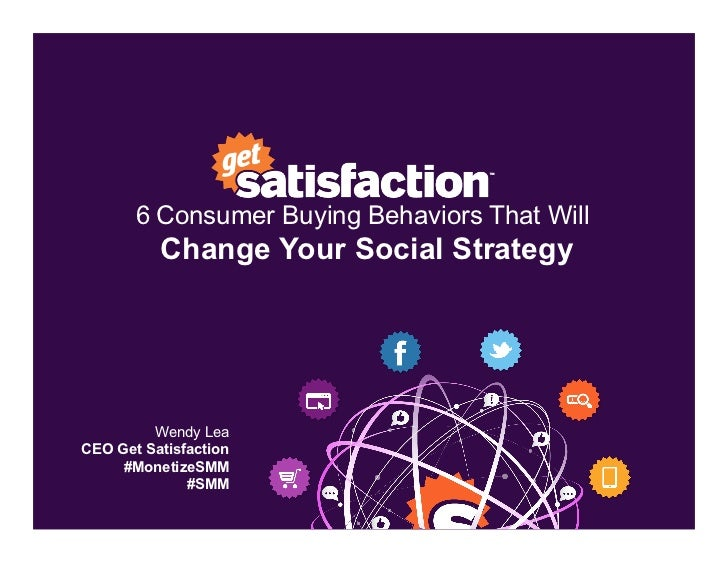 Driving Revenue From Social Media: Six Buying Behaviors That Will Change Your Strategy