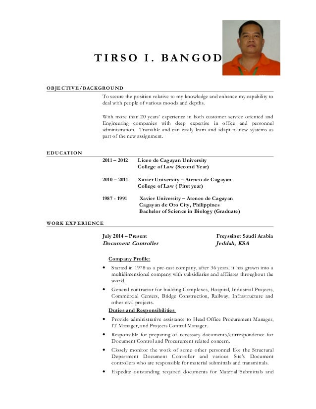 Best Ideas About Resume Objective On Pinterest To Remove  Document Control Resume