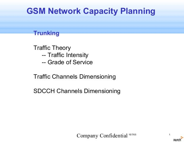 gsm cell planning: