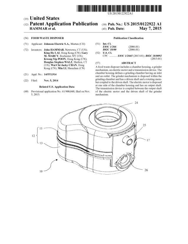 Patent-US20150122922