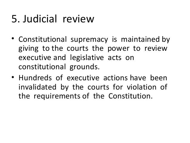 grounds of judicial review Substantive grounds are those grounds of judicial review that purport to criticise the overall basis or substance of a decision by a public body – while procedural grounds are concerned with addressing flaws in the manner in which a decision by a public body was actually made.