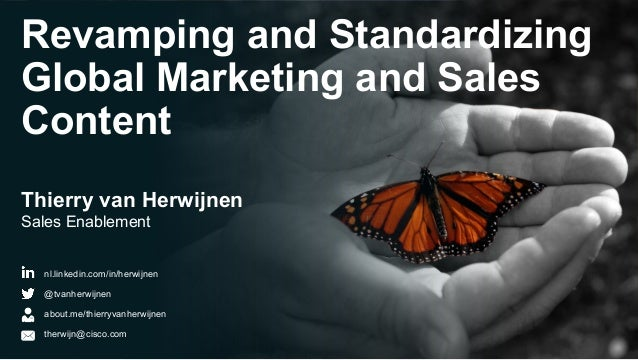 Cisco - Revamping and Standardizing Global Marketing and Sales Content