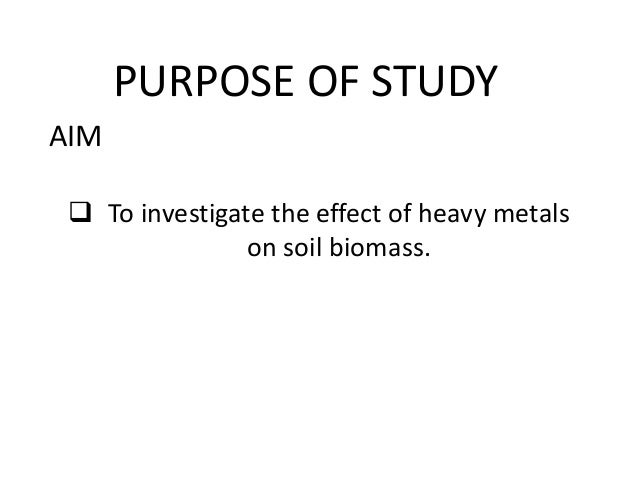 the effects of heavy metals in Applied and environmental soil science is a peer-reviewed, open access journal that publishes research and review articles in the field of soil science the effect of heavy metal toxicity on the growth of plants varies according to the particular heavy metal involved in the process.