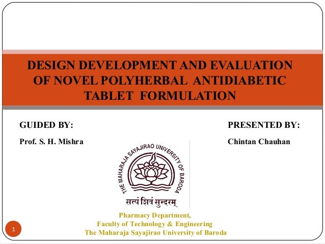 thesis on antidiabetic drug