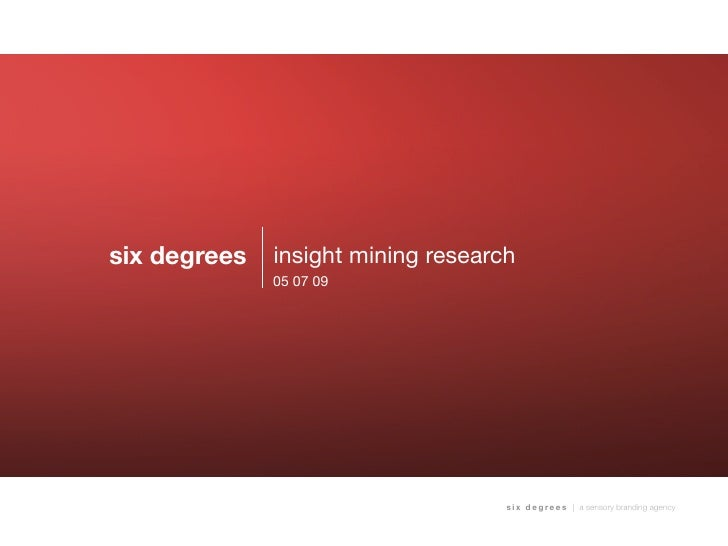 Insight and Data Mining: Primer