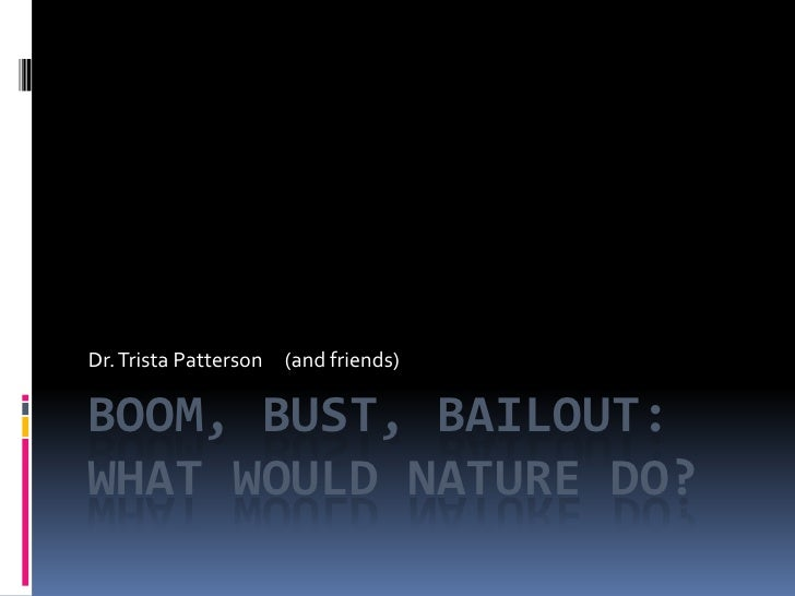 What Would Nature Do, by Trista Patterson