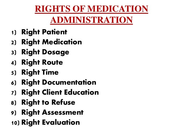 administration of medication Medication administration video handbook  revised january 2010  health facilities and emergency medical services division  colorado department of public health and.