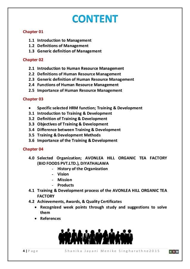 Management Dissertation Topics - Research Prospect