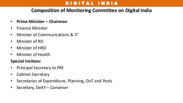 Digital india ppt - Cabinet secretariat govt of india ...