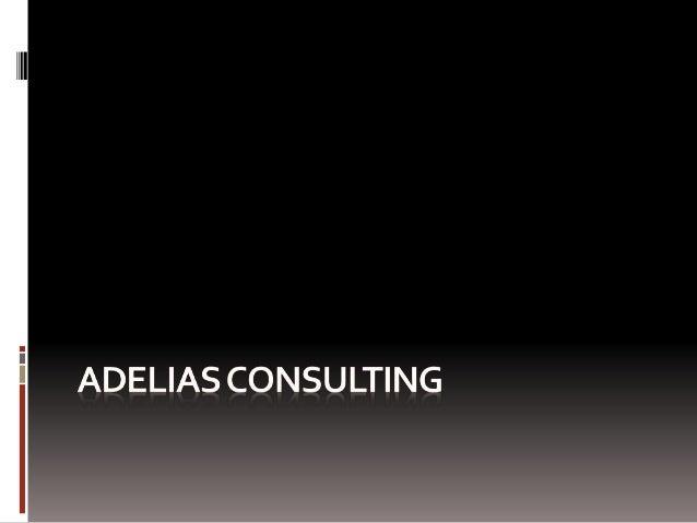 AdeliasConsulting Adelias Consulting est un cabinet de conseil SAP en organisation et en système d'information, fondée dès...