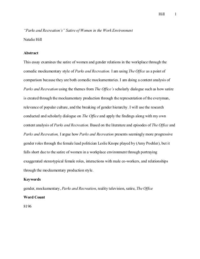 examples of satirical writing summary - Examples Of Satire Essays