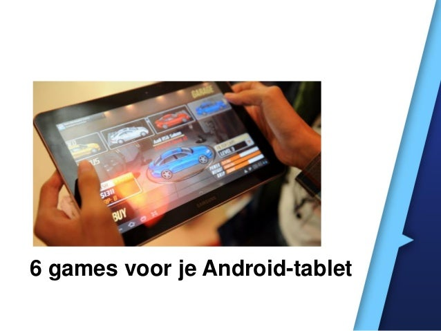 6 games voor je Android-tablet