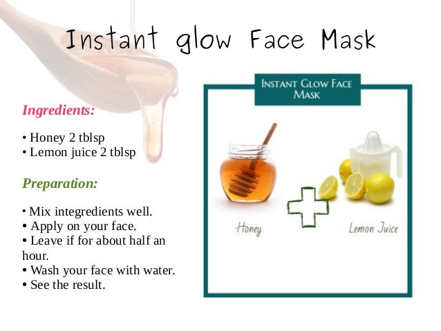 Natural Face Pack For Instant Glow