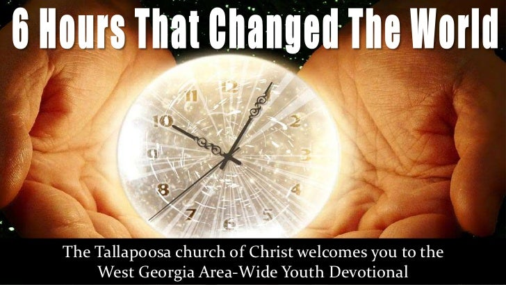 The Tallapoosa church of Christ welcomes you to the    West Georgia Area-Wide Youth Devotional
