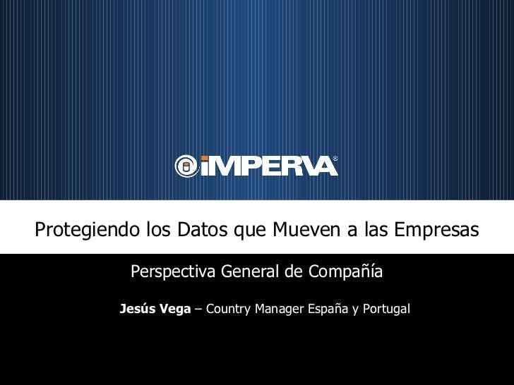 ¿Es suficiente la infraestructura de seguridad tradicional para luchar contra la Amenaza 2.0? - Jesús Vega