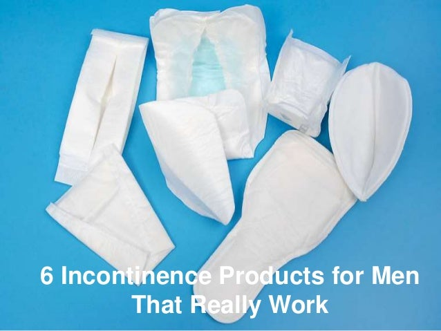 6 Male Incontinence Products You Can Use Right Now