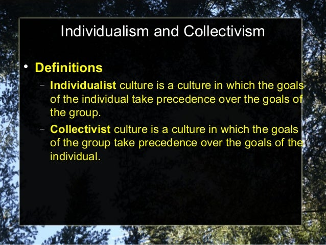 collectivism in anthem