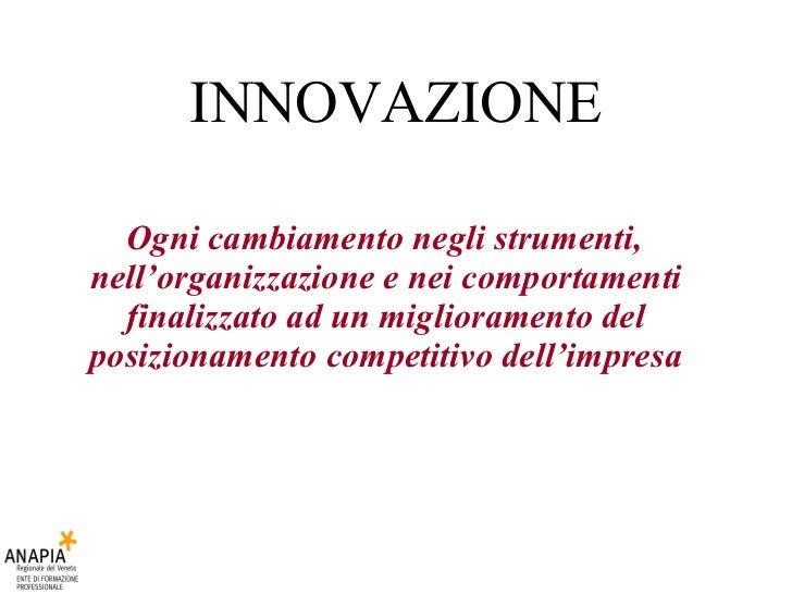 6 Innovazione E Diffusione