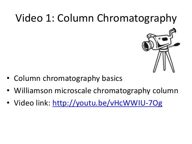 column chromatography lab report