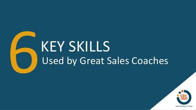 6 Key Skills Used by Great Sales