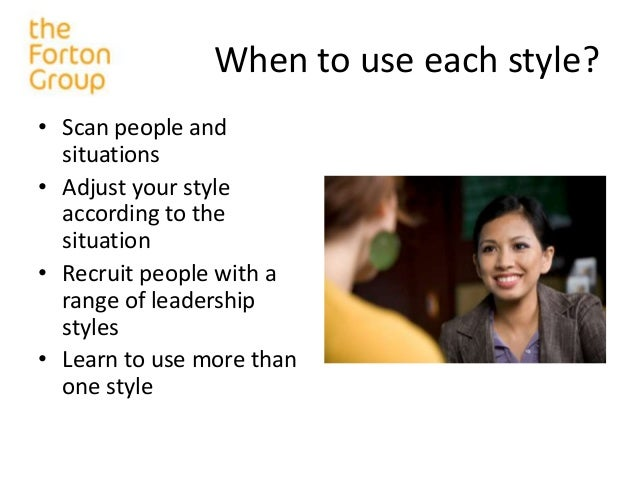 a overview of leadership style A democratic leadership style has gained popularity with notions of an empowered workforce but how do you another way to describe this style of leadership is to call it participative leadership, capturing the ideas of involvement and engagement there is also a good overview of the democratic leadership style here.