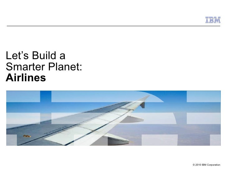 Smart Transportation for the Airline Industry - Facing Today's Challenges