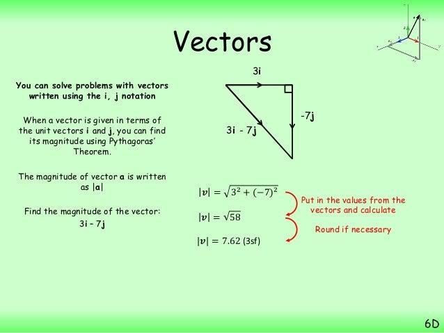 Magnitude of a vector notation