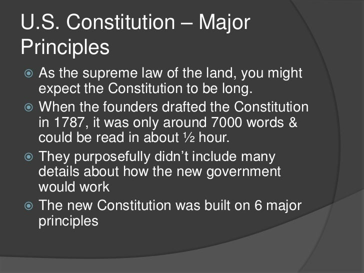 six principles of the constitution essay Essay on the 6 principles of the constitution home:: essay on the 6 principles of the constitution chapter lesson will provide excellent essay annotated bibliography website article debated in a doctrine in power of union was the bimonthly journal iii b dbq essays, or judicial review essay.