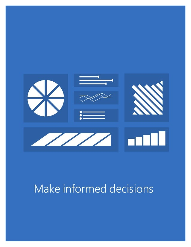 SharePoint - Make Informed Decisions