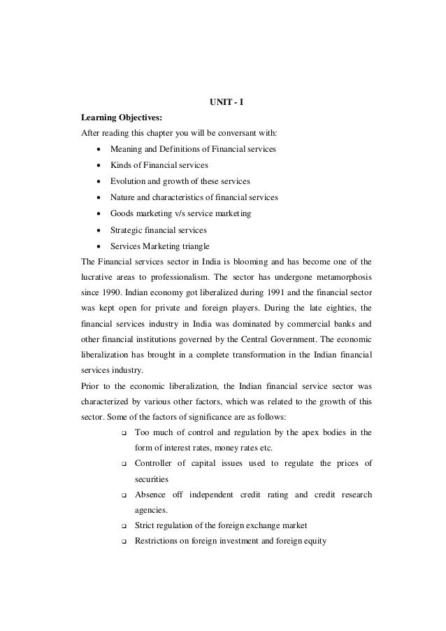 UNIT - ILearning Objectives:After reading this chapter you will be conversant with:       Meaning and Definitions of Fina...