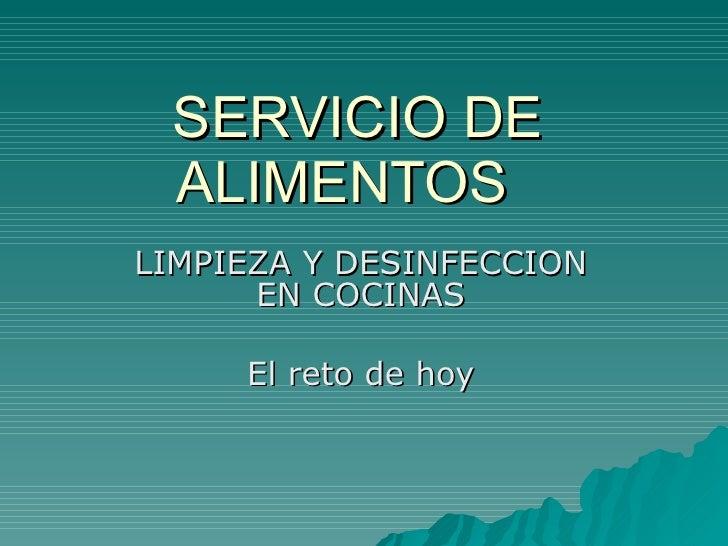 6 manual del instructor for Manual de limpieza y desinfeccion en restaurantes